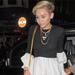 Miley Cyrus Has a Vagina Slip In Short Shorts (PICS)