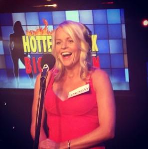 hottest chick biggest fan contestant lindsay