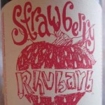 Sud Savant: Review New Glarus – Strawberry Rhubarb