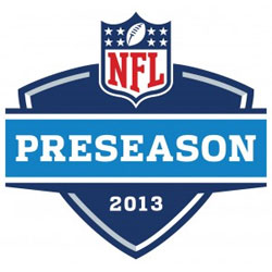 2013 nfl preseason schedule
