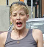 Sharon Stone Taking Her Oldest Son Out To A Flea Market (USA ONLY)