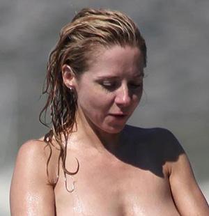 Sarah jane honeywell bikini