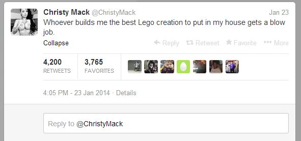 Christy Mack tweet
