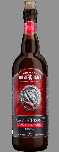 game of thrones beer valar morghulis