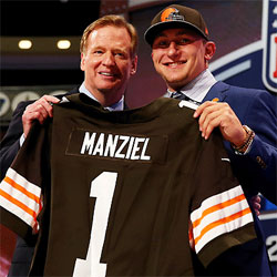 johnny manziel 2014 nfl draft