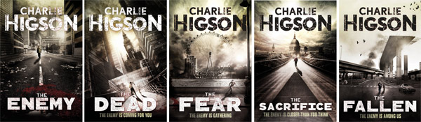 the enemy book series