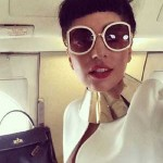 Lady Gaga Exposes a Breast in Her Private Jet (PIC)
