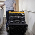 Review: DEWALT TSTAK Cart:  Become More Organized and Efficient on Any Project