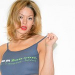 StonedGirls.com Model Trixie Tries on a TMRZoo.com Tank Top (PICS)