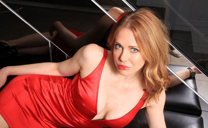 US actress Maitland Ward has exposed everything in her see