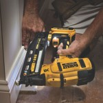 DEWALT Launches 20V MAX* XR Cordless 16 GA Angled Finish Nailer