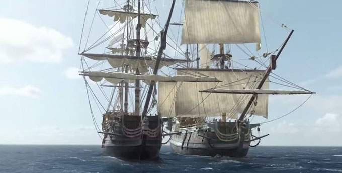 Suggestion: The future planned Big Ship TDM should have ...