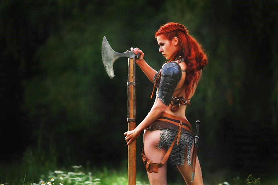 Рыжая косичка девка 25 фотография