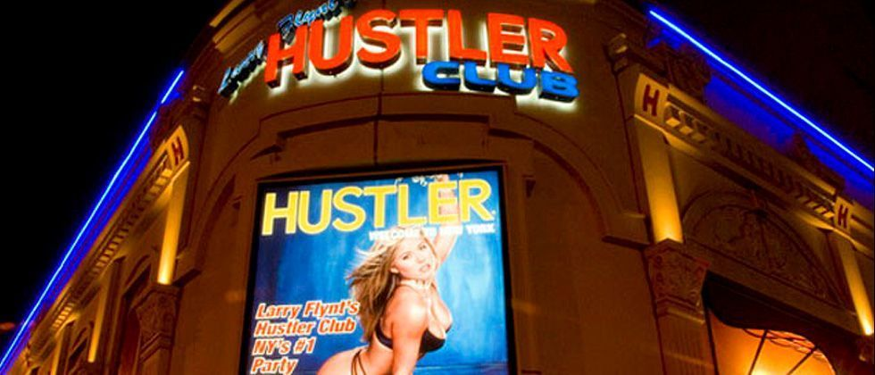 Hustler club new york review