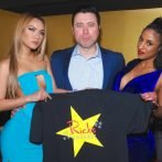 Comedian Allan Fuks and Rick's Cabaret New York Girls