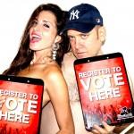 elisa and benjy register to vote photo 1
