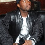50 Cent at Broadway Boxing